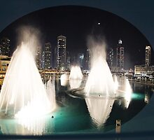 Dubai Fountains  by sylvianik