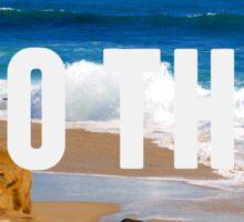 Take Me To The Beach Sticker