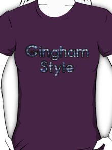 Gingham Style T-Shirt