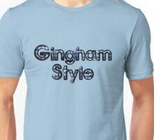 Gingham Style Unisex T-Shirt