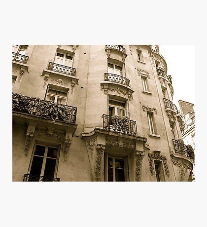 parisian facade Photographic Print