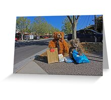 THE BEAR ESSENTIALS Greeting Card