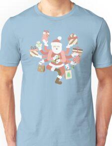 Dancing Mint Shiva Claus Unisex T-Shirt