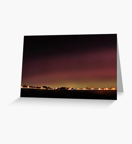 Aurora Australis Greeting Card