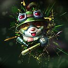 Teemo - League of Legends by Hackha