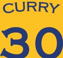 Curry #30 Sticker
