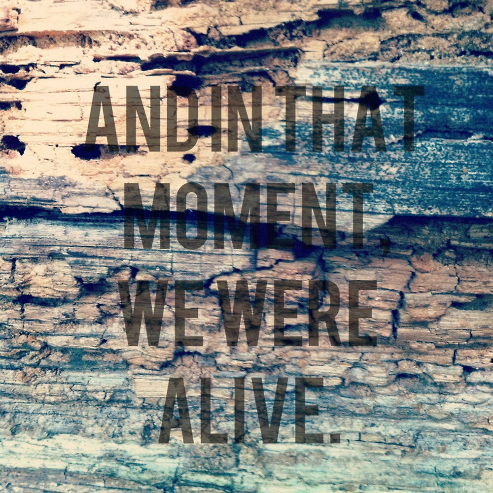 And In That Moment, We Were Alive by Josrick