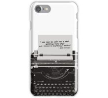 Optimistic Kerouac iPhone Case/Skin