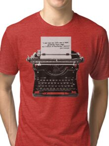 Optimistic Kerouac Tri-blend T-Shirt