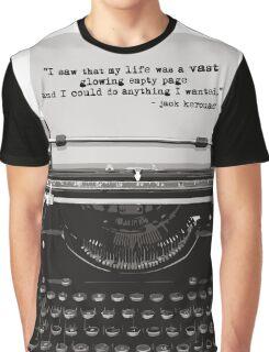 Optimistic Kerouac Graphic T-Shirt
