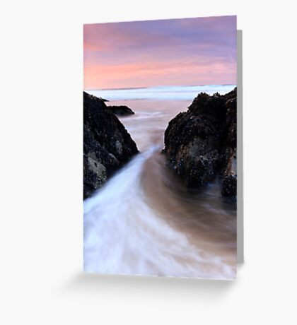 Between the Rocks - Dingle Co. Kerry Greeting Card