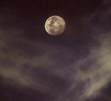 Cloudy Moon by Ashleigh Wilson