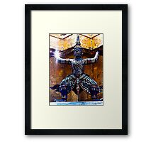 demon Framed Print