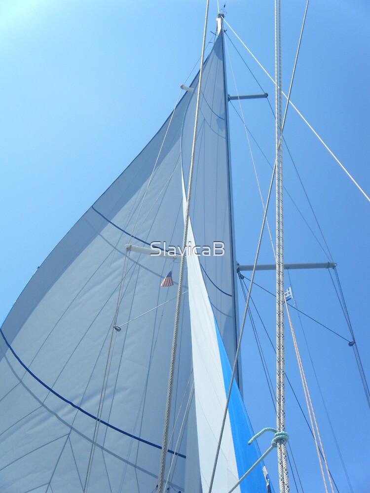 Amel Sailboat Sail #photography by SlavicaB