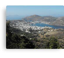 Greek Island Beauty 2 Canvas Print