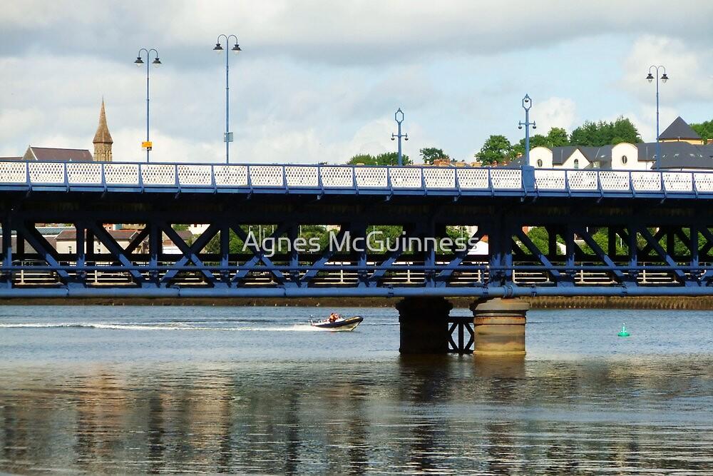 Craigavon Bridge, Derry by Agnes McGuinness