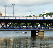 Craigavon Bridge, Derry by Agnes McGuinness