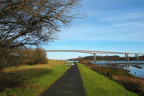 Foyle Bridge, Derry by Agnes McGuinness