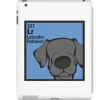 Lab (Black) - The Dog Table iPad Case/Skin