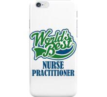 world's best nurse practitioner iPhone Case/Skin