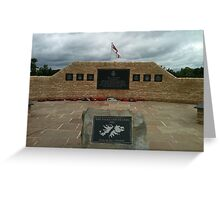 Falklands War Memorial Greeting Card