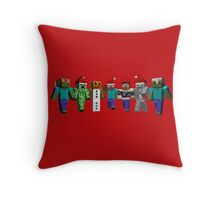 Merry Xmas from MINE 2 Throw Pillow