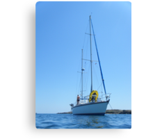 Sailboat Amel Sailing #photography Canvas Print