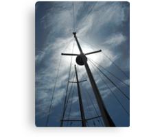 Masts in Sunlight Canvas Print