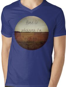 Home Is Wherever I'm With You Mens V-Neck T-Shirt