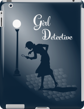 Girl Detective iPad by Hawthorn Mineart