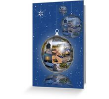 Beach Bauble Greeting Card