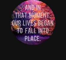And In That Moment, Our Lives Began To Fall Into Place Zipped Hoodie