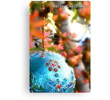 Christmas Bush Bauble Canvas Print