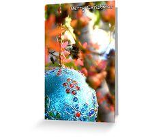 Christmas Bush Bauble Greeting Card