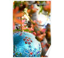 Christmas Bush Bauble Poster