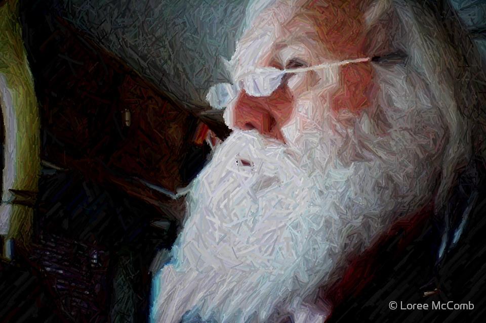 Santa Cyber Photo Shoot by © Loree McComb