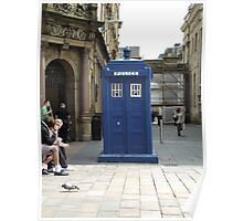 A TARDIS in Glasgow?  Poster