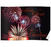 Celebrate Christ this Christmas Poster