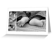 Baby feet Greeting Card