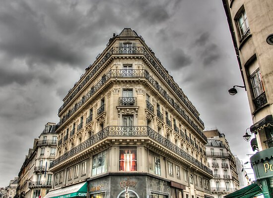 Architecture - Paris by Steve Oldham
