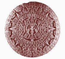 Aztec Calendar Stone Kids Clothes