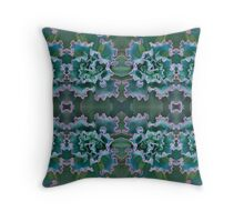 Succulent Frill Throw Pillow