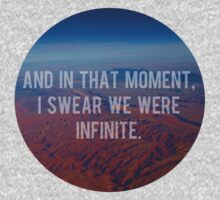 And In That Moment, I Swear We Were Infinite Kids Clothes