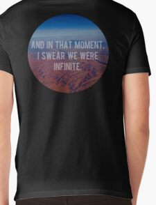 And In That Moment, I Swear We Were Infinite Mens V-Neck T-Shirt
