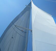 Part of sailboat sail perspective 2 #photography by SlavicaB
