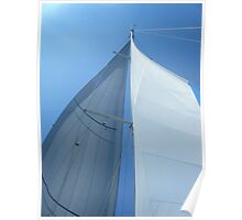 Part of sailboat sail perspective 2 #photography Poster