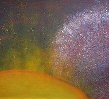 Janet Misselbrook 'Cosmic Galaxy' by AccessArtsBOA