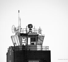 Republic Airport Traffic Control Tower   Farmingdale, New York by © Sophie W. Smith