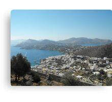 Magnificent Greek Islands 2 Canvas Print