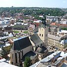 lviv from above by kchamula